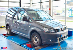 VW Caddy - 1.6 TDI - 55kW (75k) a 195Nm