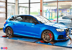Audi RS3 Stage 2 - 2.5 TFSI - 296kW (400k) a 480Nm