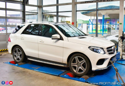 Mercedes-Benz GLE 350d - 3.0 Turbo V6 24V - 190kW (258k) a 620Nm