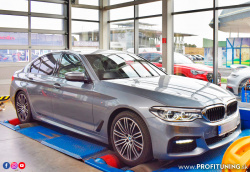 BMW 530xD (G30) - 3.0 TwinPower Turbo 24V - 195kW (265k) a 600Nm