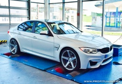 BMW M3 (F80) - S55 3.0 TwinTurbo - 331kW (431k) a 550Nm