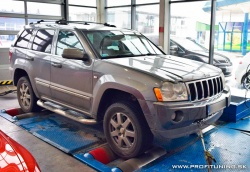 Jeep Grand Cherokee (WK) - 160kW (218k) a 510Nm