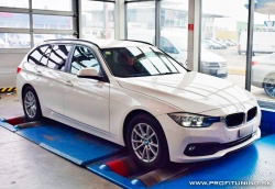 BMW 316d (F30) - 2.0 Turbo 16V - 85kW (115k) a 270Nm
