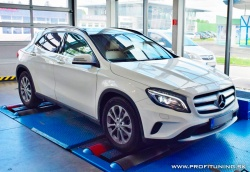 Mercedes-Benz GLA 180d - 1.5 Turbo 16V - 80kW (109k) a 250Nm