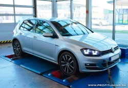 VW Golf (7) - 1.6 TDI 16V - 77kW (105k) a 250Nm